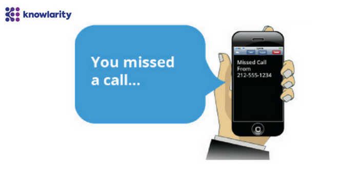 Need For Missed Call Service Providers In India
