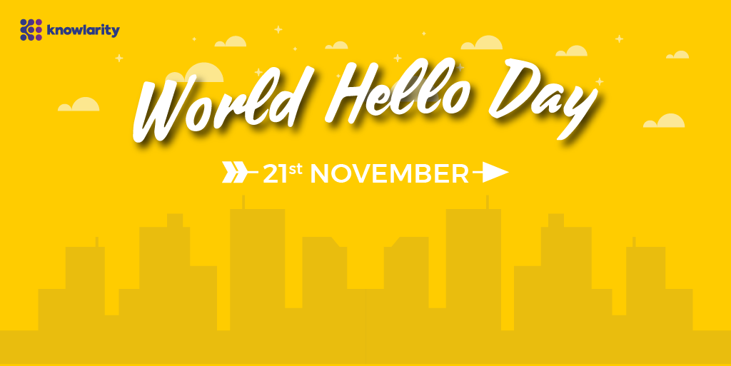 From Telephone to Telephony, a Hello is a Constant!